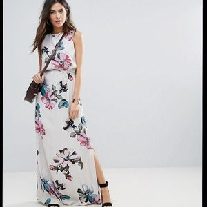ASOS Soaked in Luxury | Floral Maxi Dress
